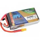 Batterie 500mAh 4S 75C XT30 - EPS