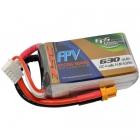 Batterie 630mAh 4S 75C (XT30) - EPS