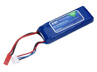 Batterie EFlite 2S 7.4V 800 mAh 30C - Blade 200QX
