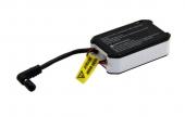 Batterie Fatshark 1800 mAh avec indicateur LED et charge USB vue de trois quart