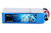 Batterie GensAce 6S 5000mah 60C vue de dessus