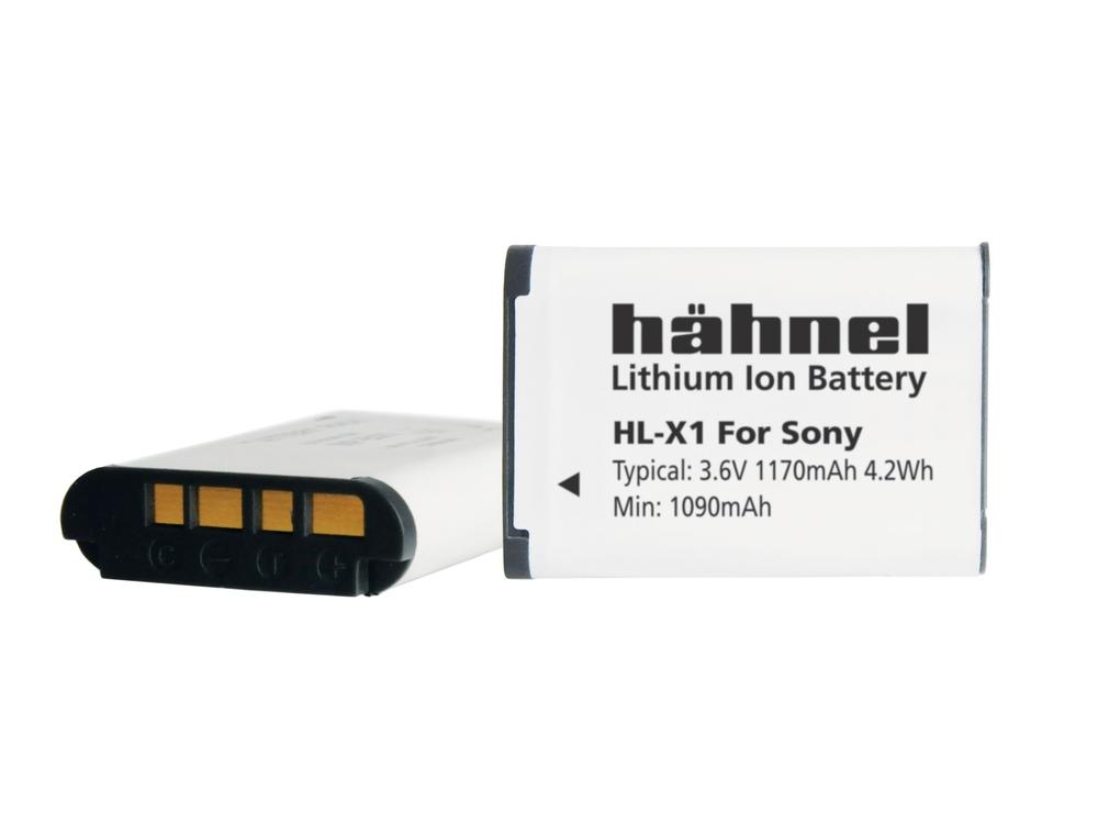 Batterie HL-X1 compatible Sony NP-BX1 - Hähnel