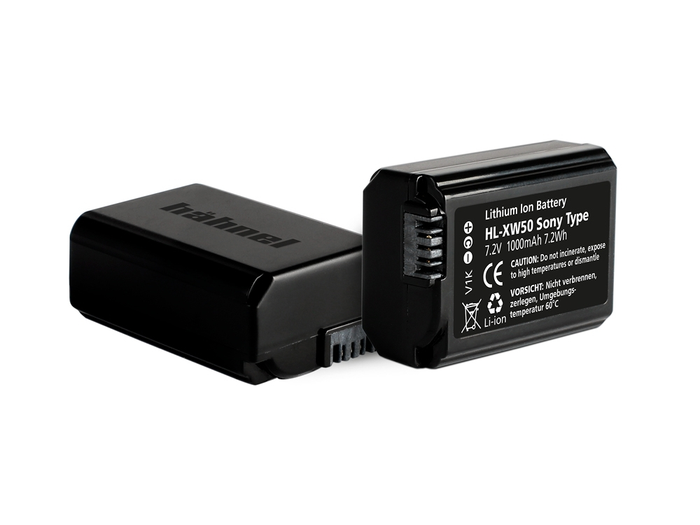 Batterie HL-XW50 compatible Sony NP-FW50 - Hähnel