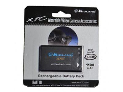 Batterie Li-Ion 1100 mAh pour Midland XTC-300