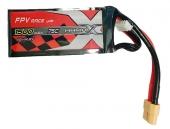 Batterie LiPo 1500mAh 75C - XT60 - ManiaX