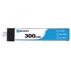 Batterie lipo 1S 300 mAh 30C (PH2.0) - BetaFPV