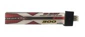Batterie LiPo 1S 300mAh 30C (PH2.0) - ManiaX