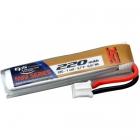 Batterie lipo 1S 3.7V 220mAh 25C - MCX/MCPX