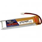 Batterie lipo 1S 3.7V 220mAh 25C
