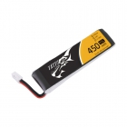 """Batterie Lipo 1S 450 mAh 95C \""""long size\"""" - TATTU"""