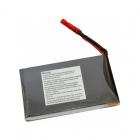 Batterie lipo 1S 630 mAh 75C - EPS vue de dos