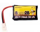 Batterie LiPo 240 mAh compatible Hubsan X4