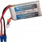 Batterie LiPo 2S 1300 mAh 20C - Dualsky