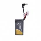 La batterie LiPo Tattu 2S 2500 mAh affiche un poids de seulement 102 grammes sur la balance.