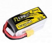 Batterie Lipo 3.0 1300mAh 22.2V 120C 6S1P R-Line (XT60) - Tattu