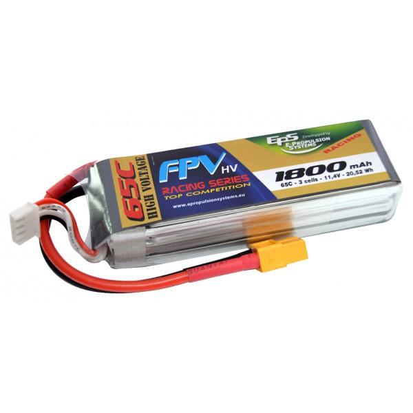 Batterie lipo 3S 1800 mAh 75C (XT60) - EPS