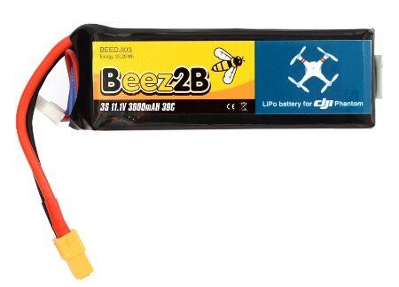 Batterie LiPo 3S 3000 mAh 30C pour DJI Phantom