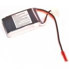 Batterie lipo 3S 480mAh 30C (JST) - EPS - Vue du dessous