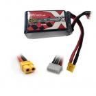 Batterie LiPo 3S 650mAh 75C - XT60 - ManiaX