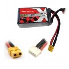 Batterie LiPo 3S 750mAh 75C - XT60 - ManiaX