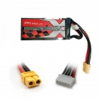 Batterie LiPo 4S 1000mAh 75C - XT60 - ManiaX