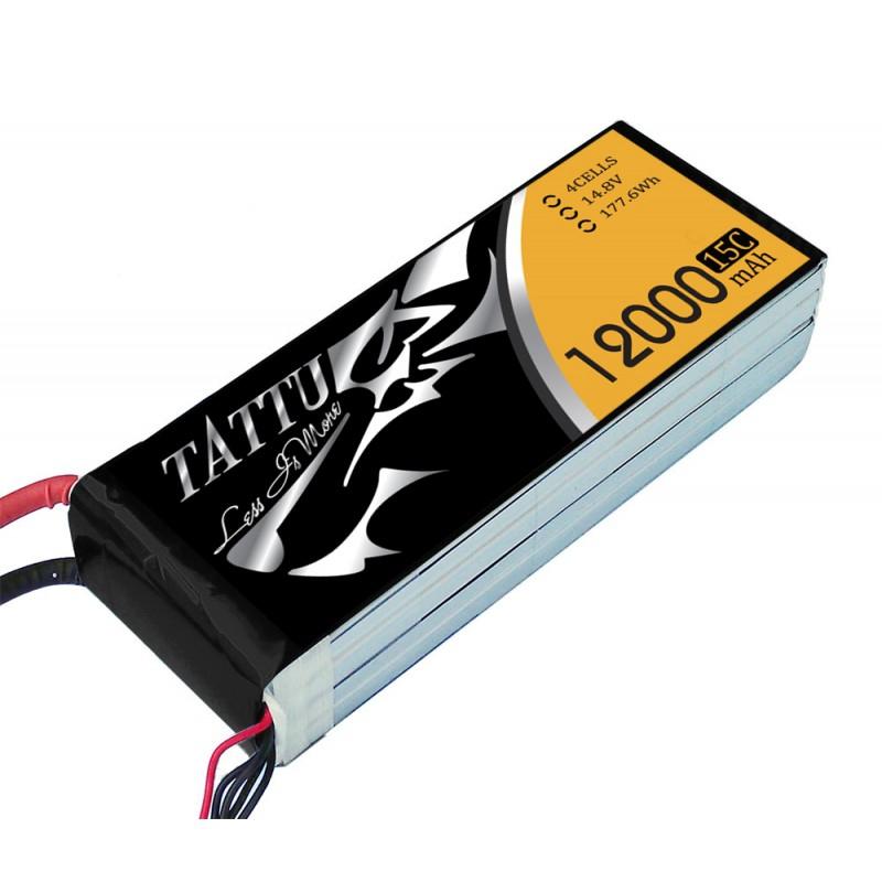 Batterie lipo 4S 12000 mah 4S - Tattu