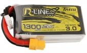 Batterie LiPo 4S 1300 mAh 120C R-Line V3 - Tattu
