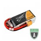 Batterie lipo 4S 1300 mAh 75C (XT60) Tattu - Occasion