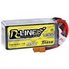 Batterie lipo 4S 1300 mAh 95C R-Line - Tattu