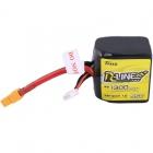 La batterie LiPo 4S 1300 mAh Tattu offre un taux de décharge de 95C idéal pour le FPV racing