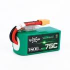 Batterie LiPo 4S 1500 mAh 75C - Acehe
