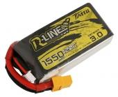 Batterie LiPo 4S 1550 mAh 120C R-Line V3 - Tattu