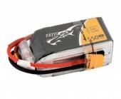 Batterie lipo 4S 1550 mAh 75C (XT60) - Tattu