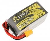 Batterie LiPo 4S 2000 mAh 120C R-Line V3 - Tattu