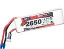 Batterie lipo 4S 2650 mAh 45C - Dualsky