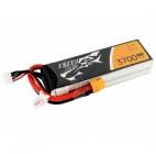Batterie lipo 4S 3700 mAh 45C (XT60) - Tattu