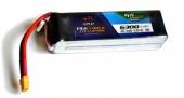 Batterie lipo 4S 6300 mAh 30C (XT60) - EPS - Vue du dessus