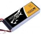 Batterie Lipo 4S 9000 mAh 25C (XT60) - TATTU