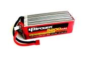 Batterie Lipo 5200mAh 6S 65C (EC5) - LPB Power