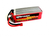 Batterie Lipo 5200mAh 6S 65C (EC5) - LPB Power