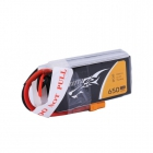 Batterie LiPo 650mAh 3S1P 75C 11.1V - Tattu