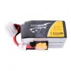 Batterie lipo 6S 1300 mAh 75C (XT60) - Tattu