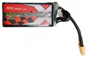 Batterie LiPo 6S 1500mAh 75C - XT60 - ManiaX