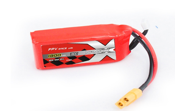 Batterie LiPo 6S 1800mAh 130C - XT60 - ManiaX