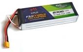 Batterie Lipo 6S 8300 mAh 15C (XT60) - EPS - Vue du dessus