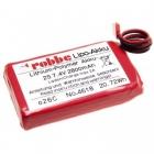 Batterie LiPo emetteur 2S 2800mAh T14SG/T6J/T8J FUTABA