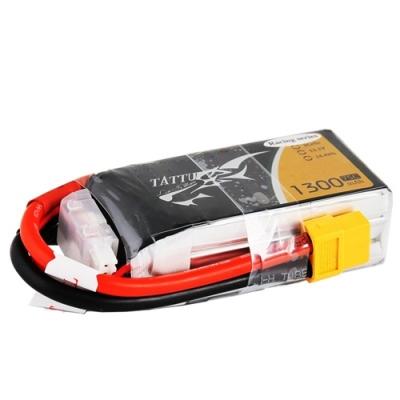 Batterie Tattu de hautes performances pour la course de drone (FPV racing).