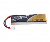 Batterie LiPo Tattu 1S 3.7V 600mAh 30C