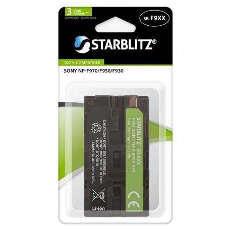 Batterie SB-F9XX compatible Sony NP-F970/F950/F930 - Starblitz