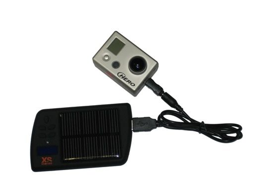 Batterie solaire avec lecteur de musique FM Xsories
